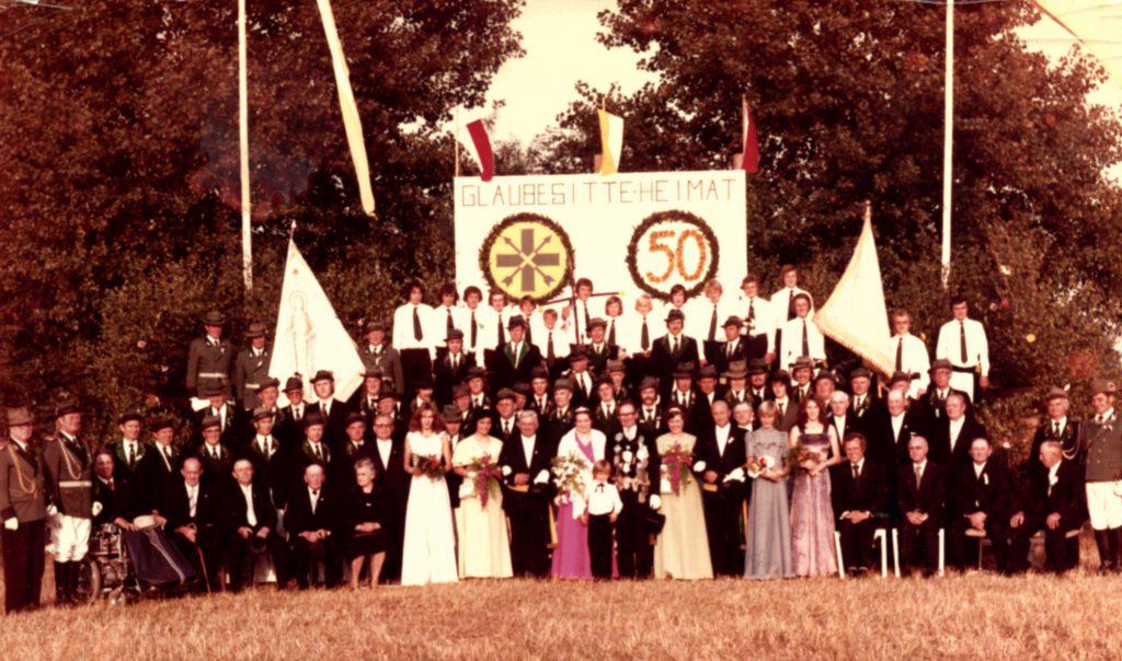 Jubiläumsbild 1975