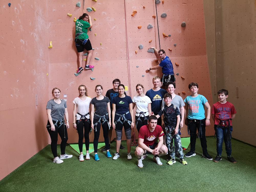 Ausflug zur Kletterhalle Neoliet Easy Climb