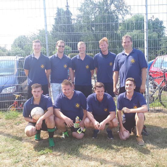 Fußballturnier in Aengenesch