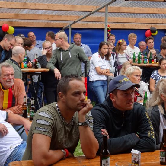 Public Viewing am Schießstand