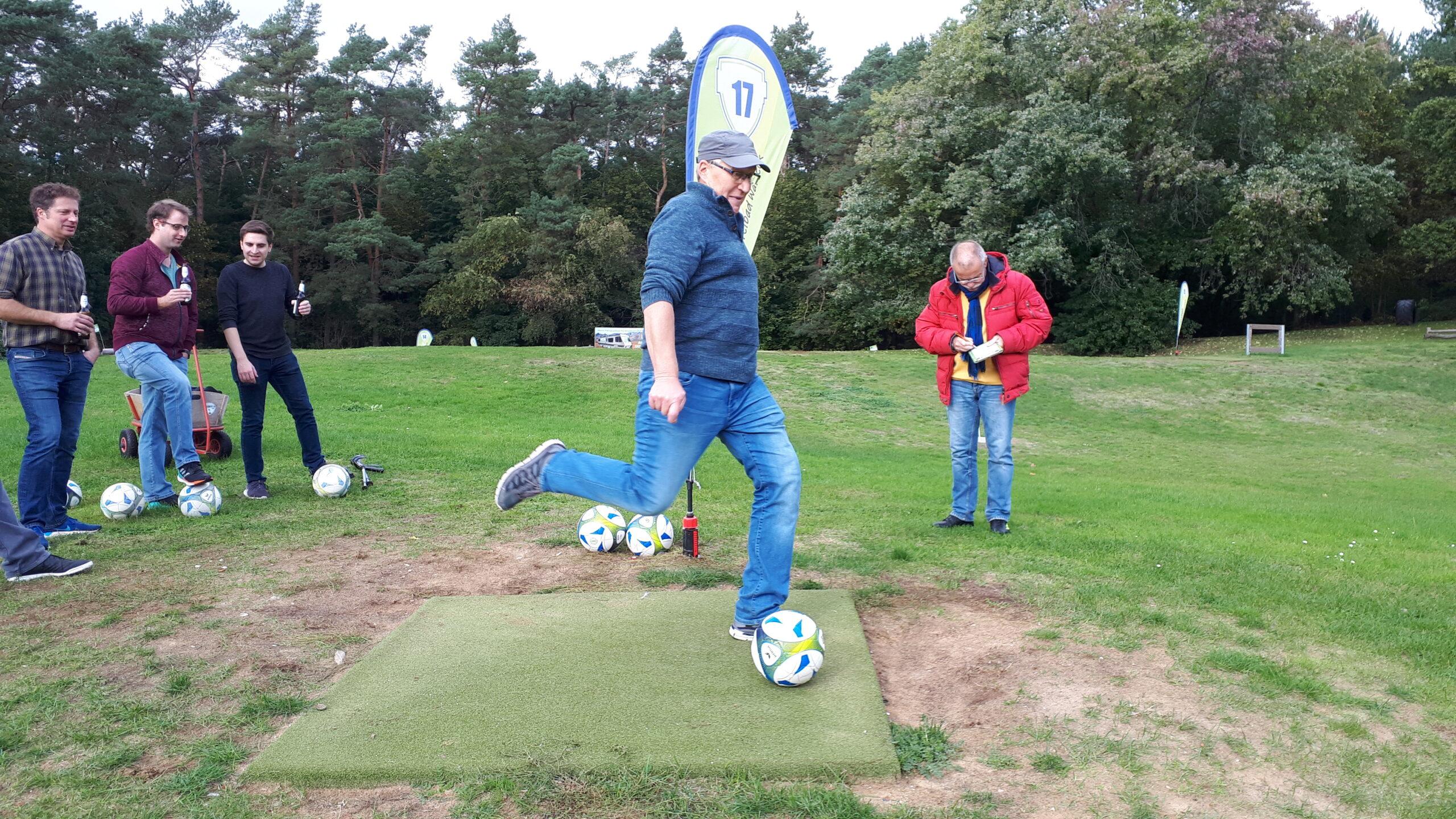 Fußballgolf in Walbeck